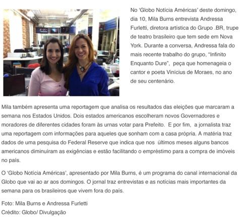 http://tvglobointernacional.globo.com