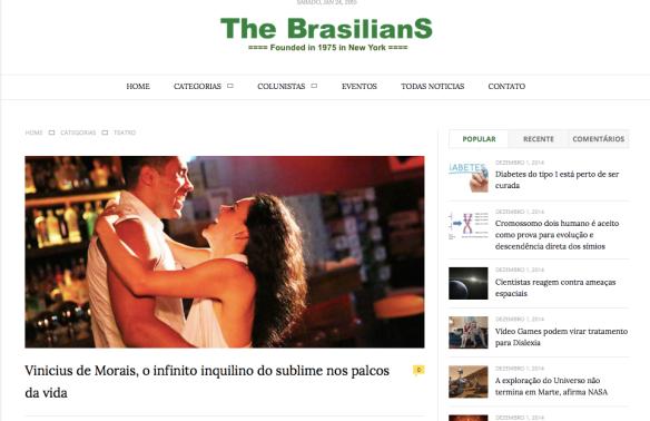THE BRASILIANS - http://www.thebrasilians.com/?p=935