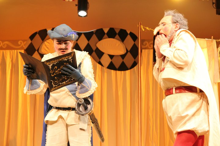 ARLECCHINO - as Fredericco Rasponi - Theatre